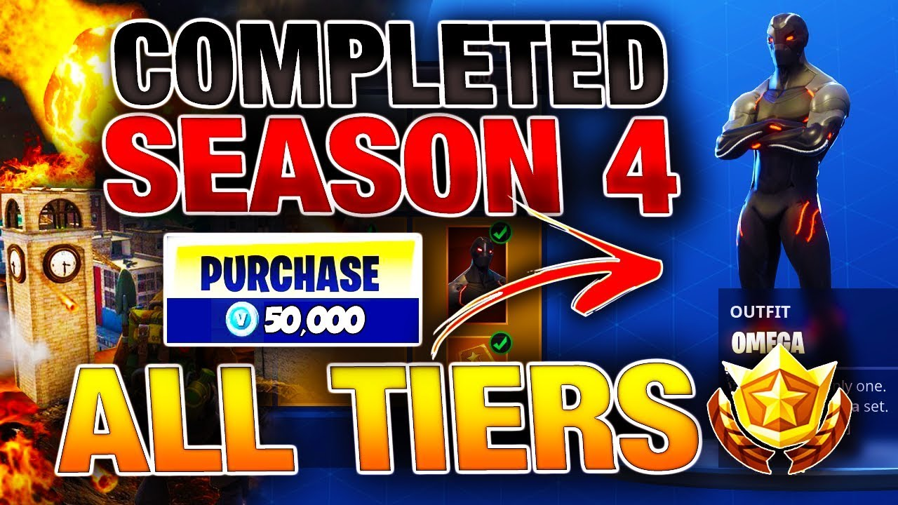 Unlocking Buying All New Season 4 Fortnite Items 100 Tier Battle