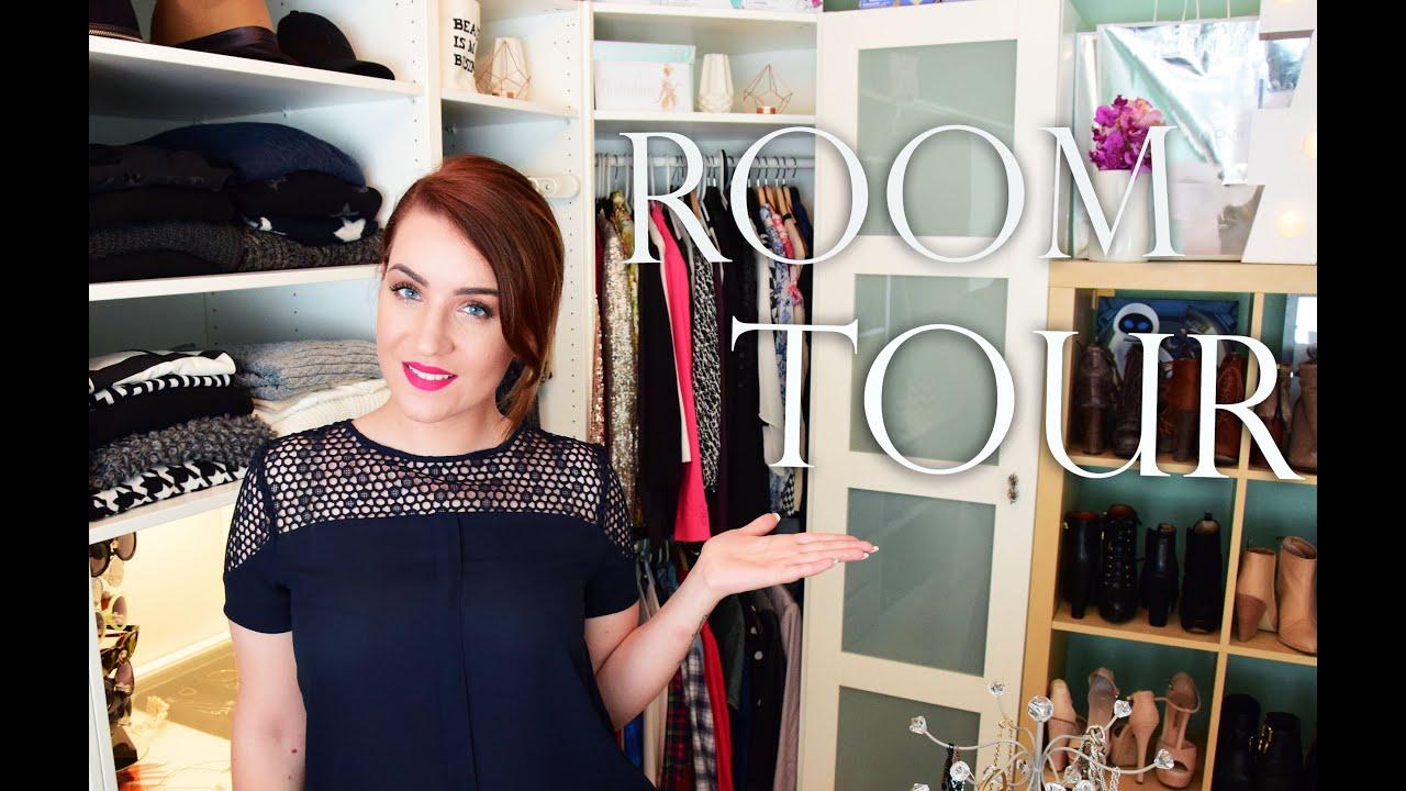 Room-Tour: Ankleidezimmer ♡ Mein Traumzimmer rebeccafloeter - YouTube