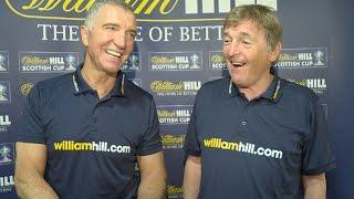 Kenny Dalgish and Graeme Souness discuss Scottish Cup memories