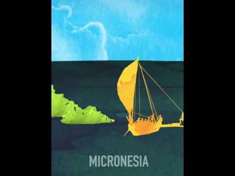 Micronesia Travel poster