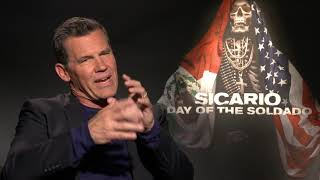 Moviebill - Josh Brolin and Isabela Moner on Sicario: Day of the Soldado