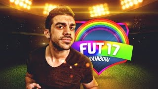 MI PRIMER FUT DRAFT ARCOIRIS EN FIFA 17 !!
