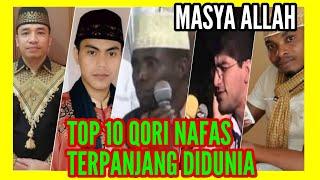 Download TOP 10 Qori Satu Nafas Surah ALFATIHAH - Qori Nafas Terpanjang Didunia