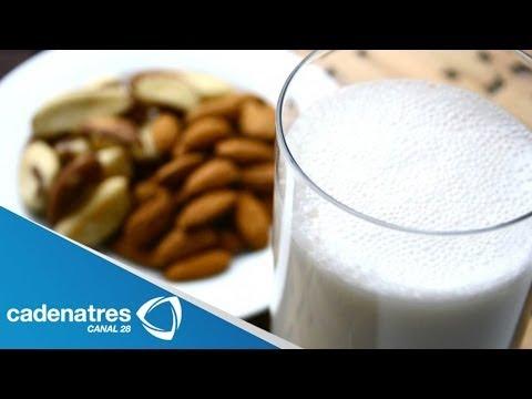 Receta para preparar leche de almendras. Leche de almendras / ¿Cómo hacer leche?