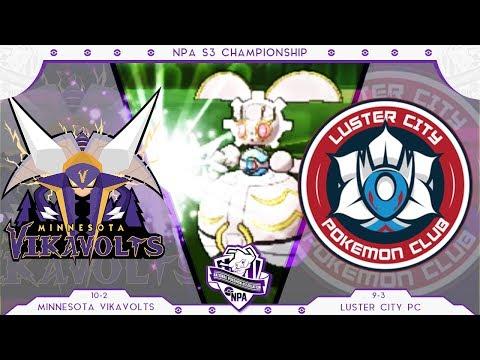 SOUL-HEART! | Minnesota Vikavolts VS Luster City PC | CHAMPIONSHIP NPA S3  | Pokemon Sun Moon