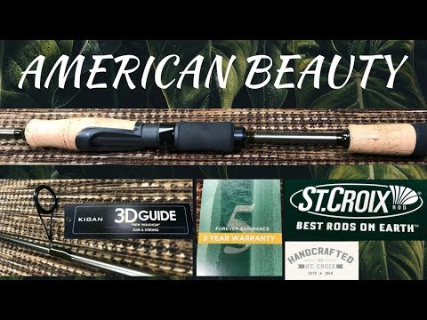 St. Croix EYECON Spinning Rods (ECS70LF) | Walleye/Crappie/Trout Fishing Rods