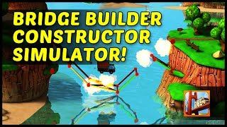 Bridge Builder Constructor Simulator Iphone, Ios Gameplay