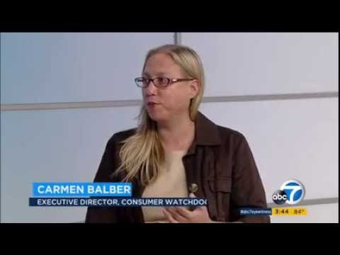 KABC TV-7 Los Angeles: Consumer Watchdog Discusses Current State of Health Insurance in California