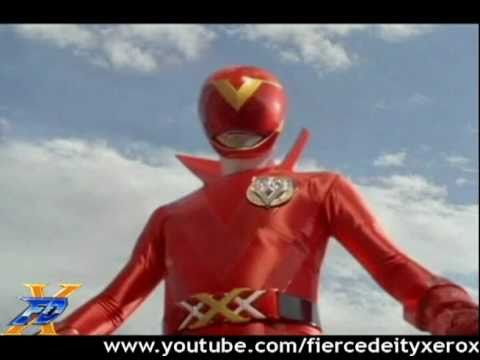 AkaRed Morph - Full transformation of all Red Rangers