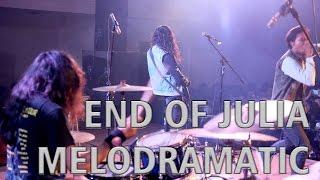 Video END OF JULIA - Melodramatic - Alvinuria (Drum Cam) download MP3, 3GP, MP4, WEBM, AVI, FLV Juli 2018