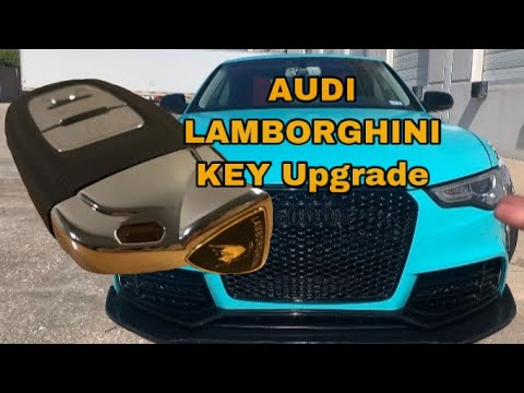 !!! AUDI / LAMBORGHINI KEY UPGRADE ( CHEAPEST AND EASIEST WAY TO REPLACE OR UPGRADE YOUR KEY) $19.99