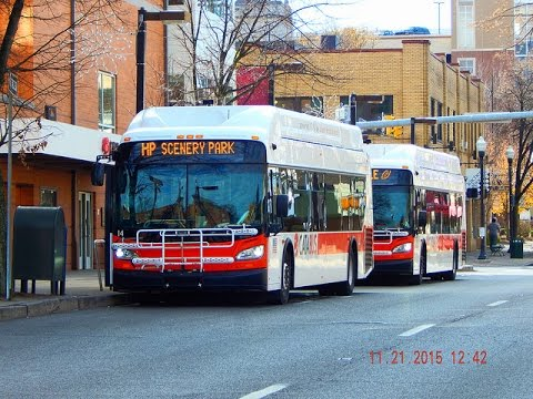 🚍/📹 CATA Bus (State College, PA): Bus Observations (November 2015)