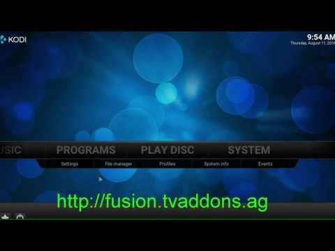 Super Fast Speed Kodi Jarvis 16.1 Download Install And Setup The Fusion Addon