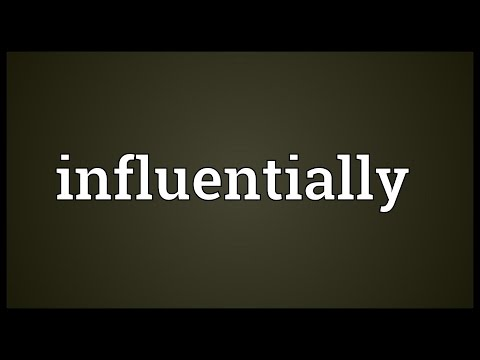 Header of influentially