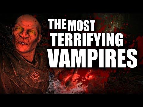 Skyrim - Top 5 Most TERRIFYING Vampires - Elder Scrolls Lore