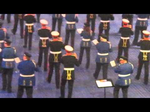 The Belfast Tattoo, 28/9/2013 - Pride of Ballinran and Brookeborough FB play