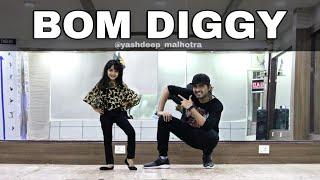 Bom Diggy | Zack Knight | Jasmin Walia | Yashdeep Malhotra | Dance | Choreography