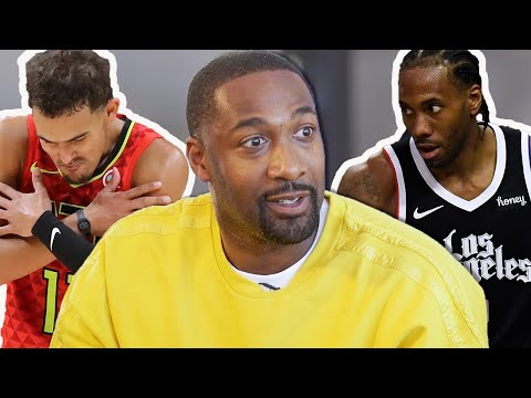 Gilbert Arenas Reacts To The First Round Of NBA Playoffs   Atlanta Hawks, Los Angeles Lakers