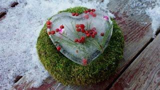 видео Вязаные сердечки-валентинки