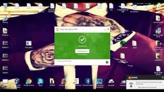 Licença Avast SeruceLineVPN + Download (2017)