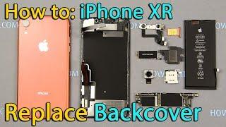 Reemplazo de tapa trasera del iPhone XR