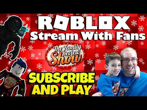 ROBLOX With Fans ☃❄ Sub and Play With Us!