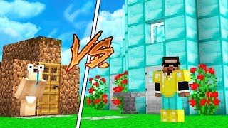 ZENGİN EV VS FAKİR EV! - Minecraft