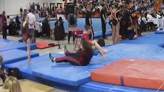 Watch This Quick-Thinking Coach Save Gymnast From Life-Threatening Fall