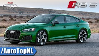 Audi RS5 SPORTBACK 2019 | LOOKS Exhaust SOUND & FACTS