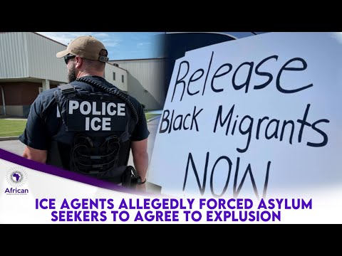 ICE Cancels Deportation Flight To Africa After Claims Of Brutality