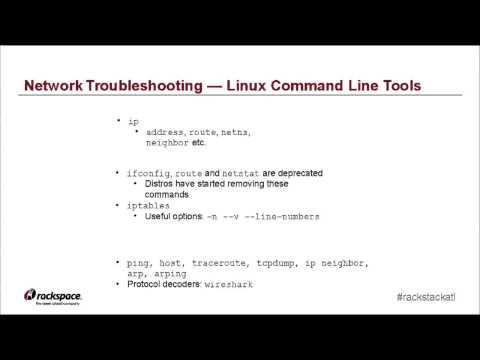 Troubleshooting Neutron Virtual Networks