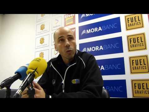 Joan Peñarroya Roda de Premsa post J7 BC River Andorra