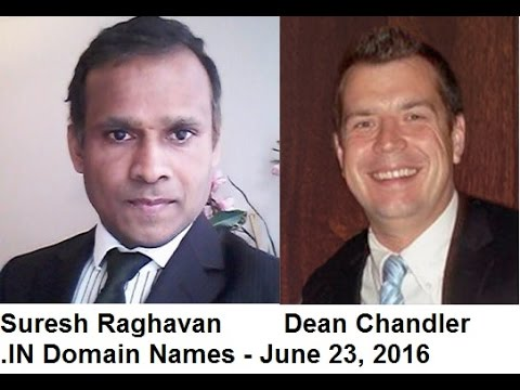 .IN Domain Names  with Dean Chandler