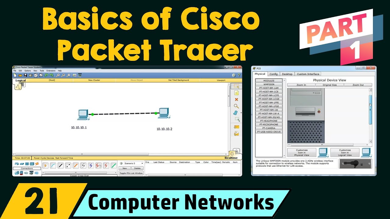 Download Basics of Cisco Packet Tracer (Part 1)