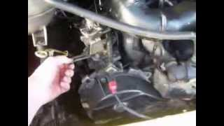 видео Ремень и ролик привода агрегатов VW Sharan 1.9D.wmv