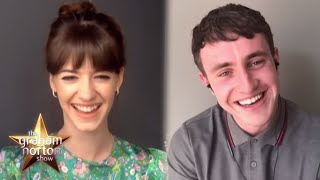 Normal People's Paul Mescal & Daisy Edgar-Jones Find Out How Much Twitter Loves Connell's Chain