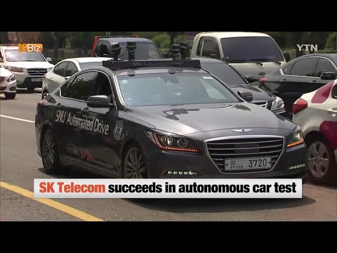 SK Telecom's Autonomous Car  / YTN KOREAN