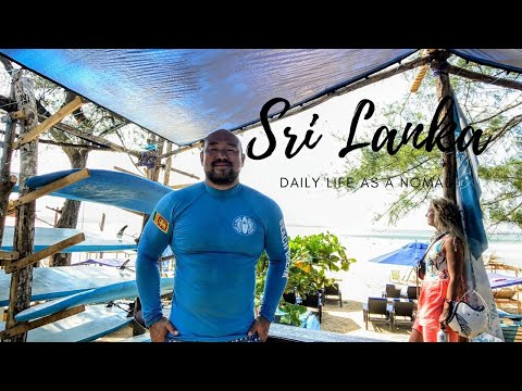 Daily Life in Weligama, Sri Lanka - Digital Nomad, Surfing, and Costs of Living