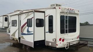2006 Forest River Cardinal 37RL tour
