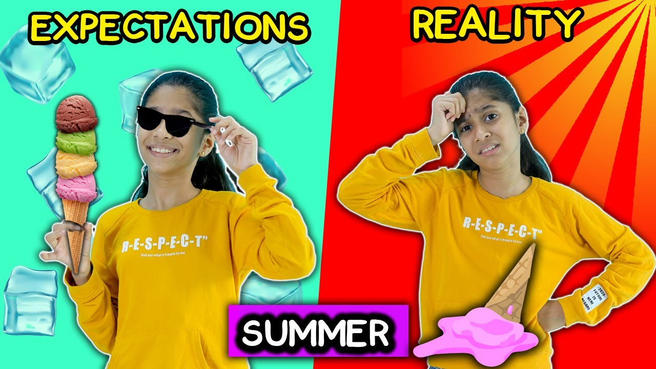 Summer Expectations Vs Reality  | Funny Video | Pari's Lifestyle