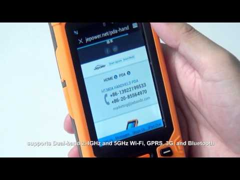 Jepower HT380A Quad Core Android Industrial PDA Handheld Terminal
