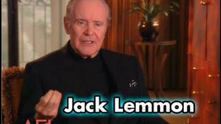 Jack Lemmon On THE APARTMENT