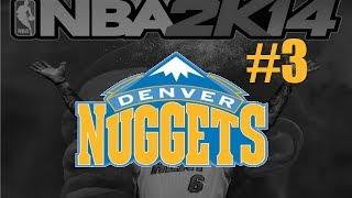 "NBA 2K14 (PS4): Denver Nuggets MyGM - Episode 3 - ""Big Game Early On"""