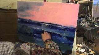 Пишем море, уроки живописи в Москве, САХАРОВ