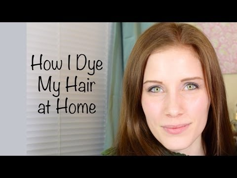 How I Dye My Hair At Home | John Frieda Precision Foam Hair Color
