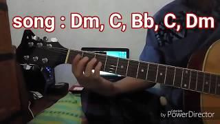 kunci gitar akustik ya habibal qolbi