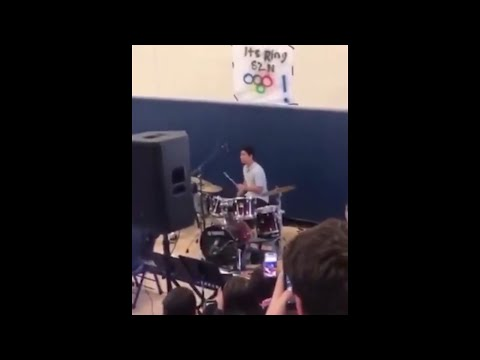 guy plays PH (Hornpub) intro at school talent show.. (expelled) Compilation!!