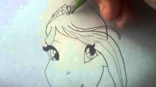 How to draw winx Bloom harmonix greek!
