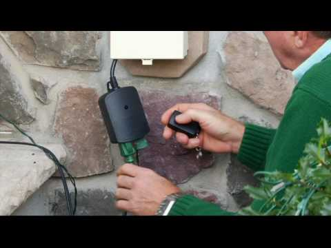 Outdoor Wireless Remote Control Dual Outlets by Globe on QVC