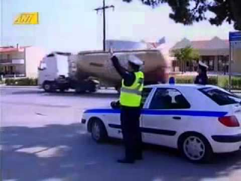 Policija vs bajker :)